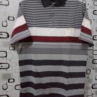 Kaos Polo Kerah T shirt Jumbo BiGSIZE 4L (3XL) warna kombinasi salur b