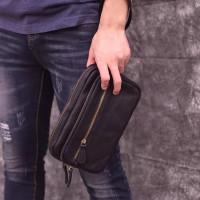 Handbag Kulit Asli Premium - Clutch Kulit Asli Premium Unisex - Pouch
