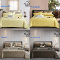 Bedcover&Sprei Sutra Tencel Jacquard Collection4 Uk. 160x200-200x200