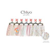 CHIYO 3pcs Celana Pendek Motif Size S,M,L (GIRL SERIES)