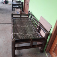 Kursi bambu bale santai Free ongkir Bayar ditempat