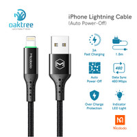 Mcdodo Auto Disconnect Lightning Data Cable Iphone Fast Charging 3A - Cable Single