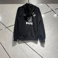 Jaket bape x undefeated blackk