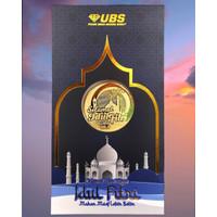 Angpao Emas Idul Fitri UBS 24K Logam mulia