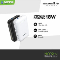 Hippo Outlander 2 PD 10.000 mAh Quick Charge 3.0+Power Delivery 18 W