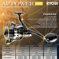 REEL RYOBI AP POWER SW