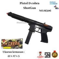 Mainan Anak Cowok Pistol Tembak Tembakan ShotGun Dcobra-M306