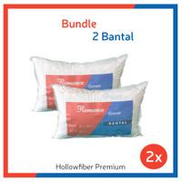 BUNDLING HEMAT!! 2 Bantal Hollow Fiber Premium (Romance Grosir)