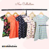 (BUY 1 GET 1) Dress Thalia 2-3 Tahun / Dres Baju Harian Anak Cewek