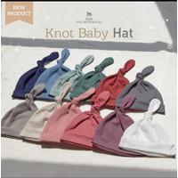 Little Palmerhaus knot Baby Hat (Topi Bayi) / Topi kuncung / Knot baby - Dusk Purple