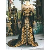 Kebaya Pengantin Bludru Jawa Modern Kebaya Pernikahan Baju Pengantin