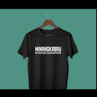 Kaos Baju Distro adat Minang Minangkabau filsafah TASARAH polos custom