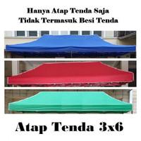 Terpal Atap Tenda Lipat 3x6