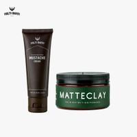 Folti Baffi Mustache Cream dan Hair Nutrition Pomade Matte Clay BPOM