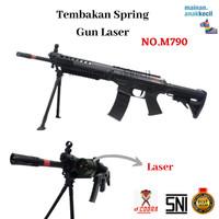 Mainan Anak Tembak Tembakan Senapan SpringGun Laser-M790