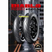 Ban Pirelli Diablo Rosso Sport 130/70-17 Original no battlax michelin