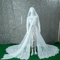 kebaya akad putih baju pengantin pernikahan