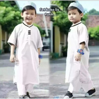 setelan koko anak laki laki baju koko pakistan bahan toyobo 1-10 tahun