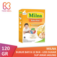 Milna Bubur Bayi 8+ Sup Ayam Jagung 120 gr