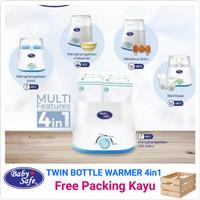 PENGHANGAT SUSU |Baby Safe Twin Bottle Warmer STERILIZER LB216
