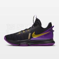 Nike LeBron Witness 5 EP Basketball Shoes - Black/Fierce Purple