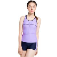 Opelon Pakaian Renang Wanita - Ladies Boyleg Purple