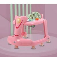 Spacebaby SB707 2in1 Baby walker Pushwalker Babywalker - Pink