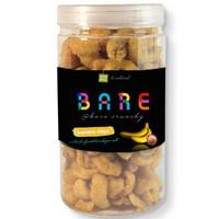 PISANG BANANA CHIPS WITH PINK SEASALT JAR -- #100%raw #natural