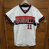 Jersey baseball vintage descente baju softball second impor japan