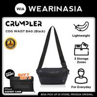 Tas Selempang Pria Original Crumpler COG Waist Bag - Black