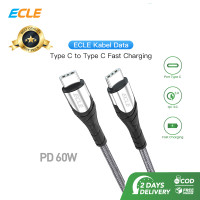ECLE Kabel Usb Type c To Type C 3A/60W Power Delivery Fast Charging
