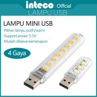 Lampu USB Mini LED Stick 3/8 LED Emergency Lamp Reading Lamp