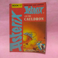 komik import original, ( Asterix ,and the Cauldron , book 17