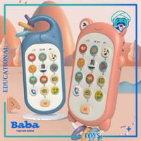 Mainan Edukasi Musik Anak Bayi Telepon Handphone HP Phone Cute Animal