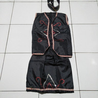 Adat anak perempuan TK daerah Papua /kostum karnaval adat