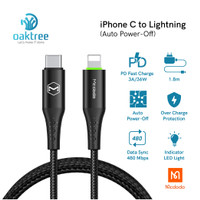 Mcdodo Auto Disconnect Type C to Lightning Cable Iphone Fast Charge PD - Cable Single