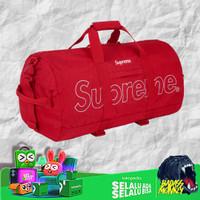 SUPREME DUFFLE BAG FW18 RED