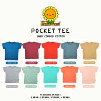 Himawari - Premium Pocket Tee / Kaos Oblong Anak Premium Quality