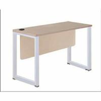 Meja Kantor INDACHI HPL PUTIH-120x60x75 cm Wilson series-Molek_Furnitu