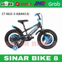 Sepeda Anak Laki BMX 18 Inch CENTRUM CT-8625-3-8 Ban Jumbo