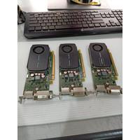 VGA NVIDIA QUADRO 600 1GB 128BIT DDR3 DVI-DISPLAY PORT BERGARANSI