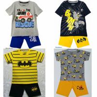 Setelan kaos baju anak laki laki size 1 2 3 4 5 6 7 8 9 10 tahun #2249