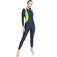 Opelon Pakaian Renang Wanita - Long Diving Grey Indigo