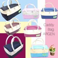 Caddy Bag Argen Tas Perlengkapan Bayi Diaper Bag Nursery Bag Tas ASI