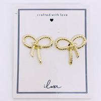 Janice Cute Ribbon Stud Earring