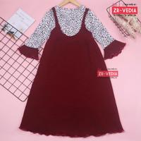 Gamis Aisyah uk 8-9 Tahun / [EXPORT] Dres Ngaji Baju Anak Perempuan - Motif Batik
