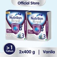 Paket 2 - Nutrilon Royal Prosyneo 3 Susu Pertumbuhan 1-3Th Vanila 400g