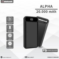 Delcell ALPHA Power Bank 20000mAh Digital Display QC 4.0+ PD