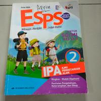 buku esps IPA untuk SD kelas 2 K 2013 terbitan Erlangga