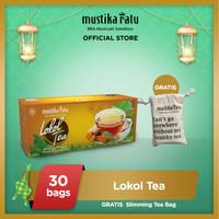 [Mustika Ratu] Lokol Tea 30bag teh Free Slimming Tea Bag